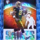 2003 Topps Pristine DEUCE MCALLISTER Refractor Card #38 #61/99 Saints UNC