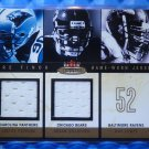 2003 Mystique BRIAN URLACHER JULIUS PEPPERS Rare Finds Dual Jersey Patch #/250