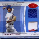 2004 Hot Prospects TOM GLAVINE Double Team Dual Jersey Patch #04/10 4 COLOR METS