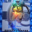 2004 Topps Finest DEVERY HENDERSON Auto Graph Rookie RC Refractor #128 #171/199