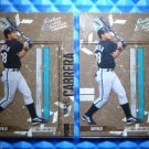2- 2004 Leather & Lumber MIGUEL CABRERA #56 Sequentially Numbered #30&31/100 Lot