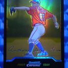 2004 Bowman Chrome ANTHONY LEREW Gold Refractor Rookie Card RC #221 #/50