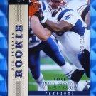 2004 NFL Legends VINCE WILFORK Rookie Card RC #158 #489/650 Patriots Miami Canes