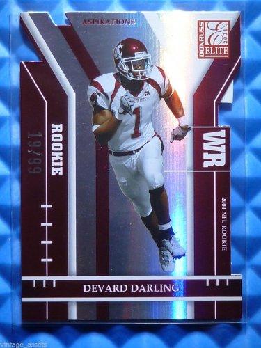 2004 Donruss Elite DEVARD DARLING Aspirations Rookie Card RC #128 #19/99