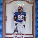 2004 Donruss Classics JAMES LOFTON Timeless Tributes Red #096/100 #120 Bills