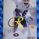 2003 Ultimate Collection BRANDON LLOYD Rookie Card RC #74 #460/750 Illini