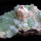 INCREDIBLE APOPHYLLITE, STILBITE BOWTIE AND MORDENITE MINERALS CLUSTER FORMATION