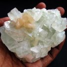 AMAZING LIGHT GREEN APOPHYLLITE AND STILBITE MINERALS COLLECTIBLES SPECIMENS