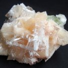 AMAZING SCOLECITE, STILBITE AND APOPHYLLITE MINERALS COLLECTIBLES SPECIMEN INDIA