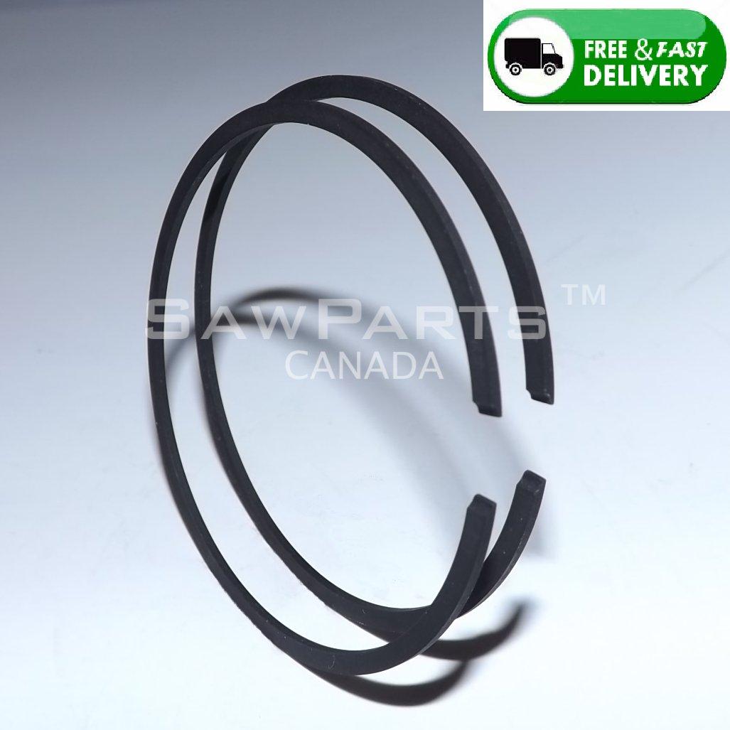 PISTON RINGS 56x1.5mm SET (2 rings total) Fits HUSQVARNA PARTNER STIHL
