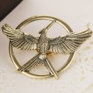 #11 The Hunger Games Mockingjay Pin Bronze Katniss Everdeen Bird Badge Prop Brooch Tribute Token