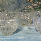"Set of five Punch Cups in the ""Royal"" Pattern from Lancaster Glass Co"