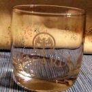 Bacardi Rum Bat Logo Low Ball Cocktail Drink Glass