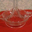 Vintage Pressed Glass Juicer/Reamer, 30's-40's-50's