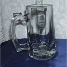 HEAVY Anchor Hocking Clarisse Tankard with Sure Guard Tempered Rim