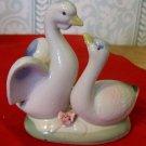 Vintage Ceramic Geese or Swans