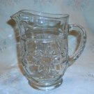 Vintage EAPC Star of David Small Pitcher from Anchor Hocking