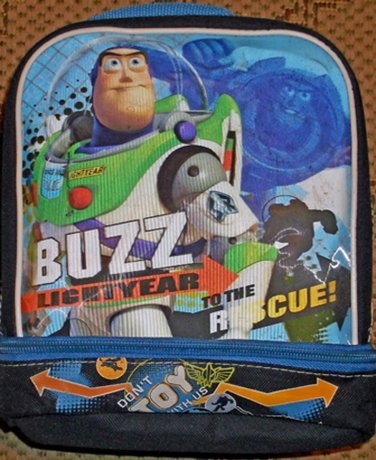 Disney Toy Story 3, Insulated Lunch Bag Tote Buzz Lightyear To The Rescue