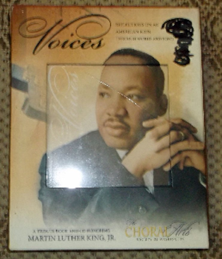 "Choral Arts ""Voices"" Tribute Book & CD Honoring Martin Luther King, Jr. Illustr."