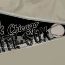 "Chicago White Sox Pennant Felt Fabric 2007 Skyline MLB Logo, 12"" x 30"""