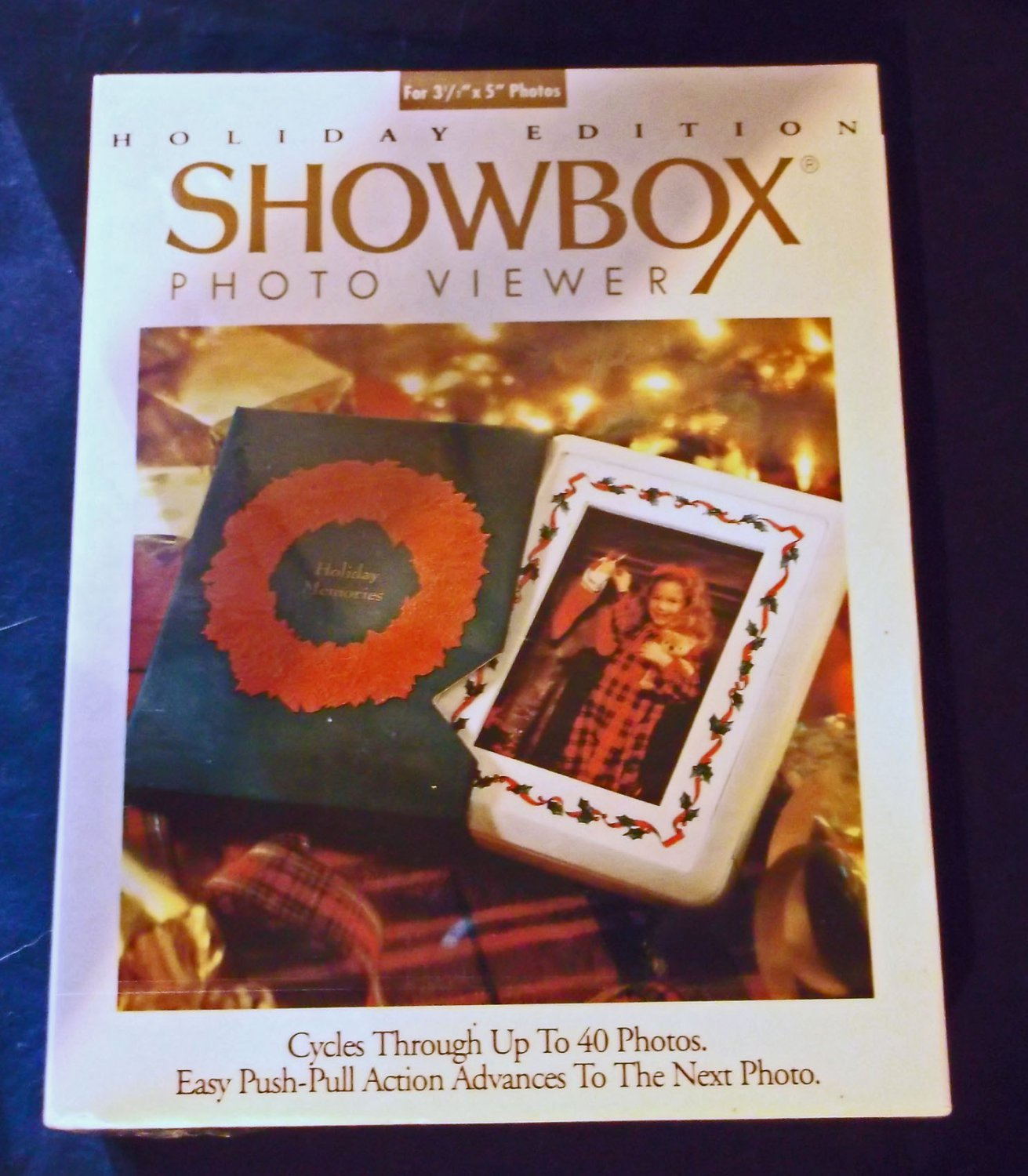 Burnes Showbox Photo Viewer, Christmas Edition,  in Shrinkwrapped Box