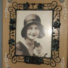 Metal Tabletop Photo Frame with Ivy