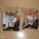 Peanuts The Movie Figures (From McDonald's Happy Meals)