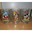 Mickey Mouse/McDonalds 2000 Celebration Animal Kingdom Glasses