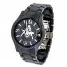 Black Ceramic Masonic Symbol Watch