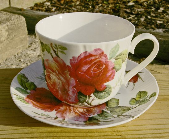 Roy Kirkham Tea Cup and Saucer