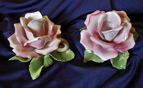 Rose Candle Holders