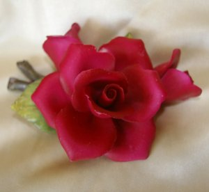 Red Rose Decoration