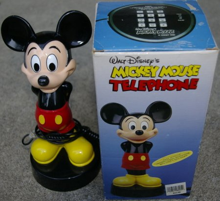 Hands Behind Back, Mickey Mouse Phone