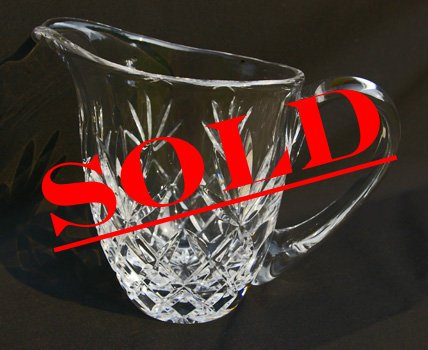 Lenox Crystal Pitcher