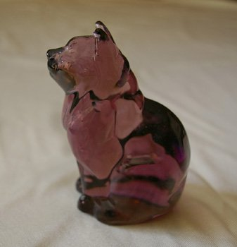 Purple Fenton Cat