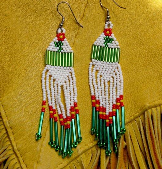 Montana Made Beaded Earrings #022