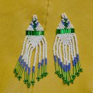 Montana made Beaded Earrings #47