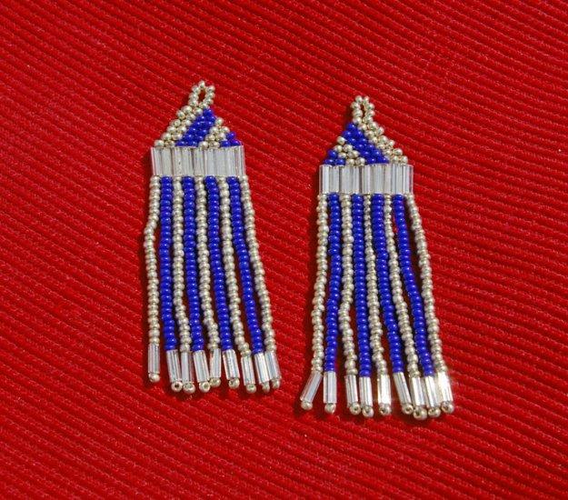 Montana made Beaded Earrings #42
