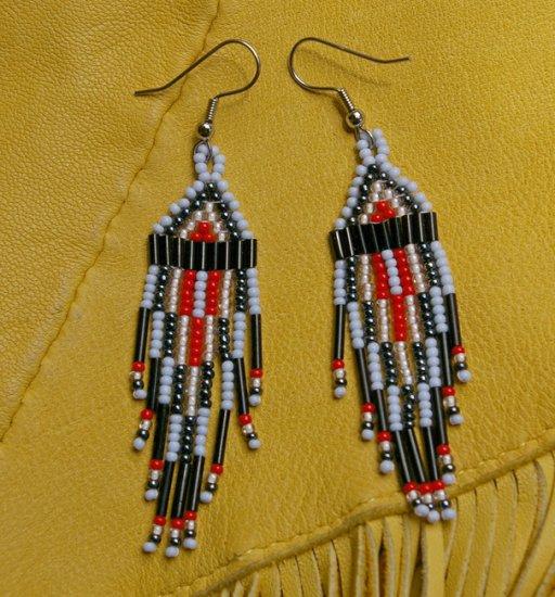 Montana made Beaded Earrings #27
