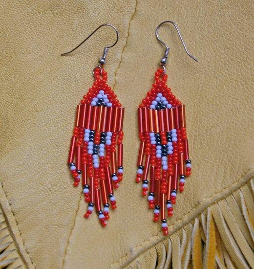 Montana made Beaded Earrings #31