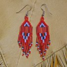 Montana made Beaded Earrings #31