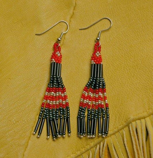 Montana Made Beaded Earrings #34-T