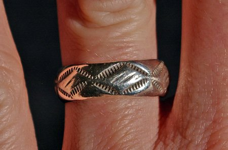 Sterling Silver Navajo made Ring