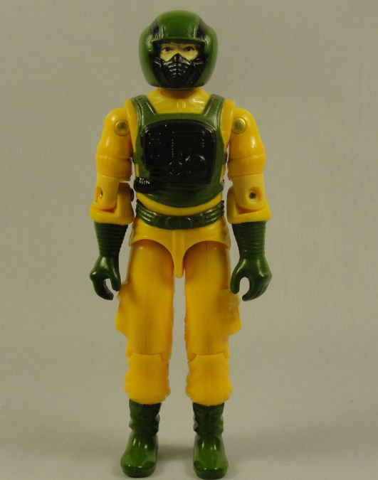 G.I. Joe - Airtight - 1985 ARAH, Vintage Action Figure