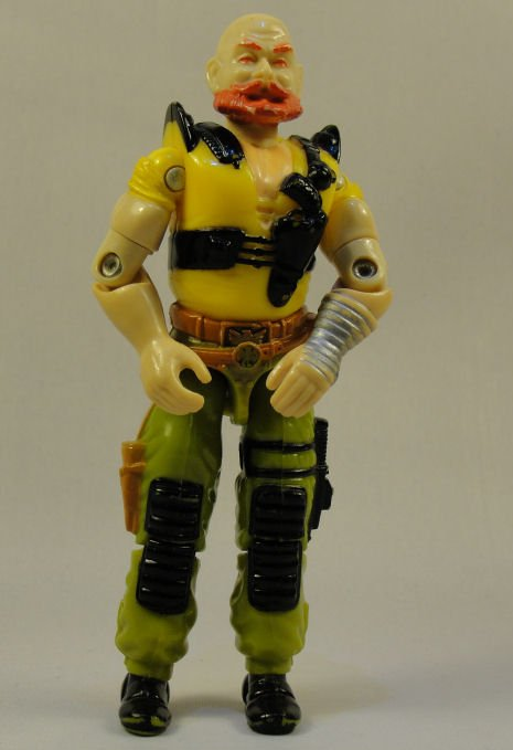 G.I. Joe - Taurus - 1987 ARAH, Vintage Action Figure