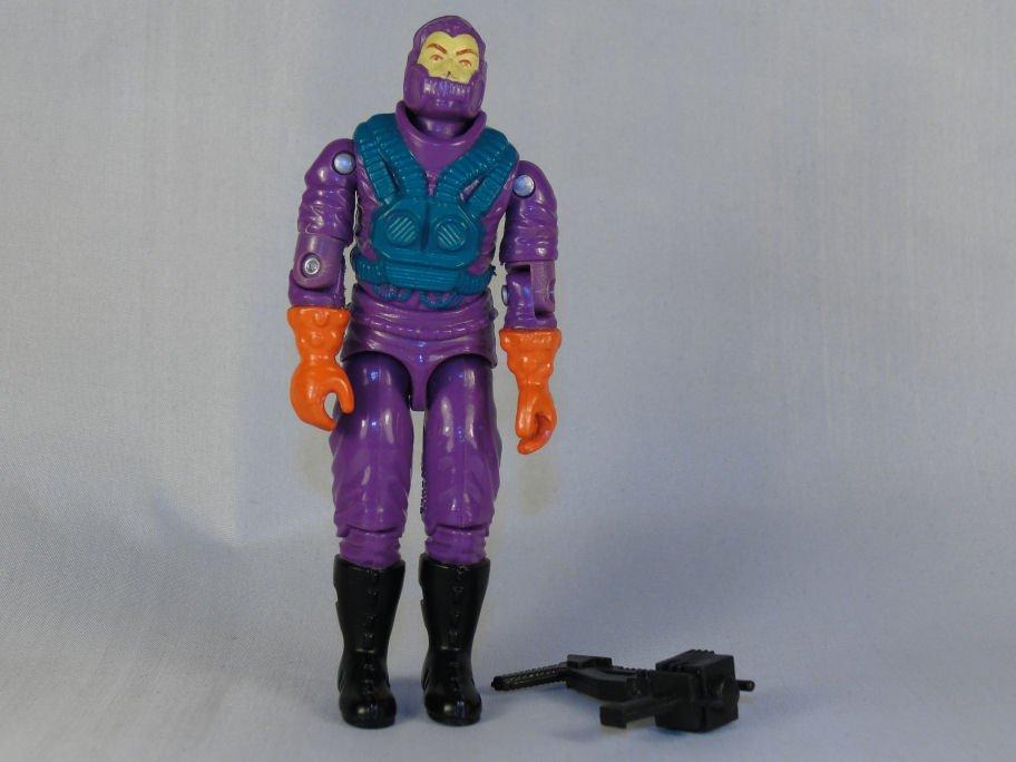 G.I. Joe - Toxo-Viper - 1988 ARAH, Vintage Action Figure