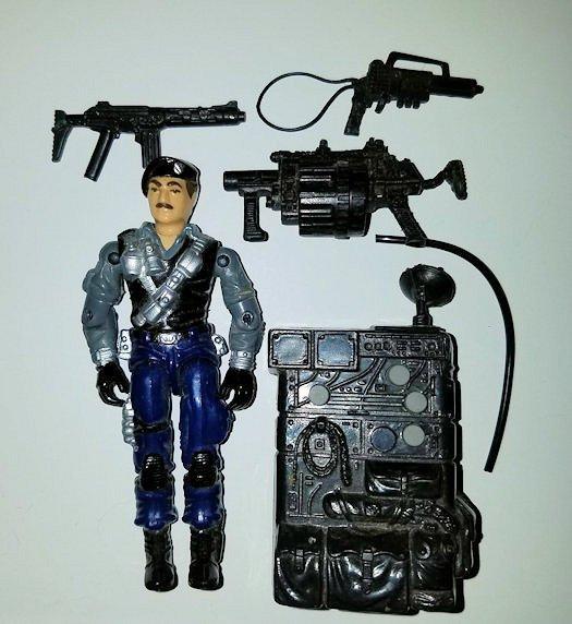 Dial Tone 1990 - ARAH Vintage Action Figure (GI Joe, G.I. Joe)