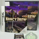 Nintendo DS - Nancy Drew - The Deadly Secret of Olde World Park