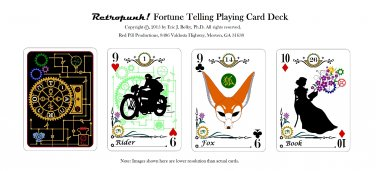 Retropunk! Fortune Telling Card Deck