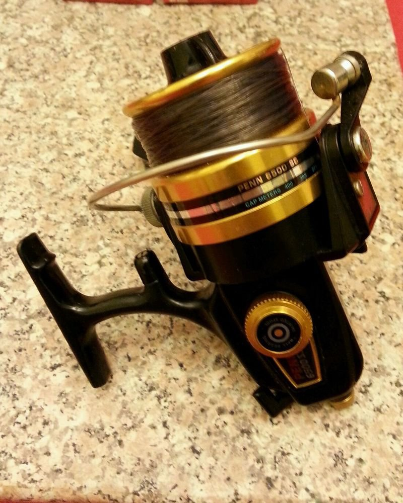 Penn 6500 ss spinning reel made in usa for Fishing reels made in usa